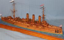 Модель крейсера Аврора 10.