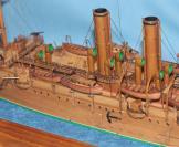 Модель крейсера Аврора 13.