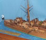 Модель крейсера Аврора 14.