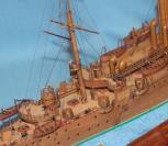 Модель крейсера Аврора 21.