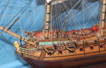 Модель корабля Ингерманланд.