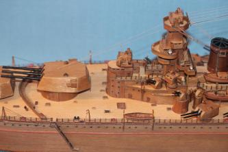 Модель корабля Советский Союз 11.