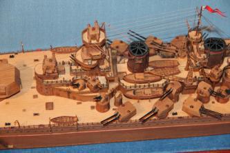 Модель корабля Советский Союз 14.