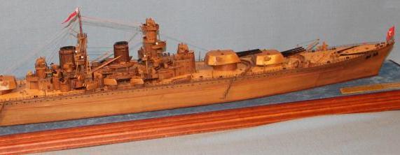 Модель линкора Советский Союз 20.