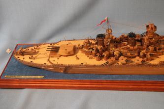 Модель корабля Советский Союз 21.