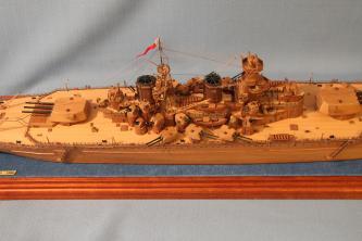 Модель корабля Советский Союз 22.