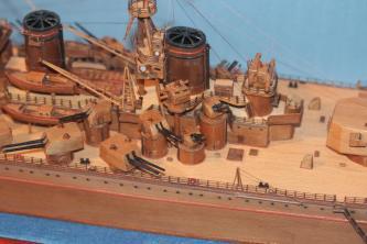 Модель корабля Советский Союз 23.