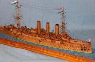 Авторская модель крейсера Аврора