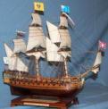 Стендовая модель корабля Ингерманланд