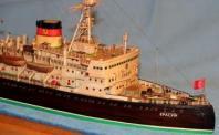Стендовая модель педокола Красин
