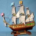 Коллекционная модель фрегата Штандарт