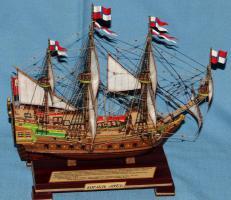 Готовая модель ручной работы корабля Орёл, 7.