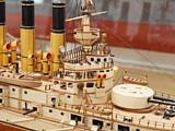 Модель корабля броненосца Ретвизан. 8
